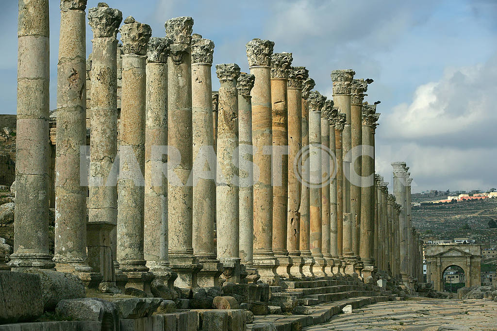 The ruins of the ancient city of Jarash — Image 49864