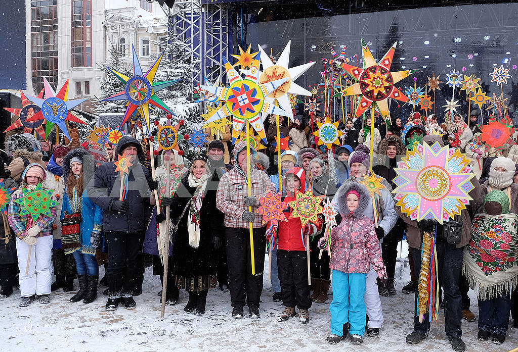 Christmas Celebration at St. Sophia Square in Kyiv — Image 49881