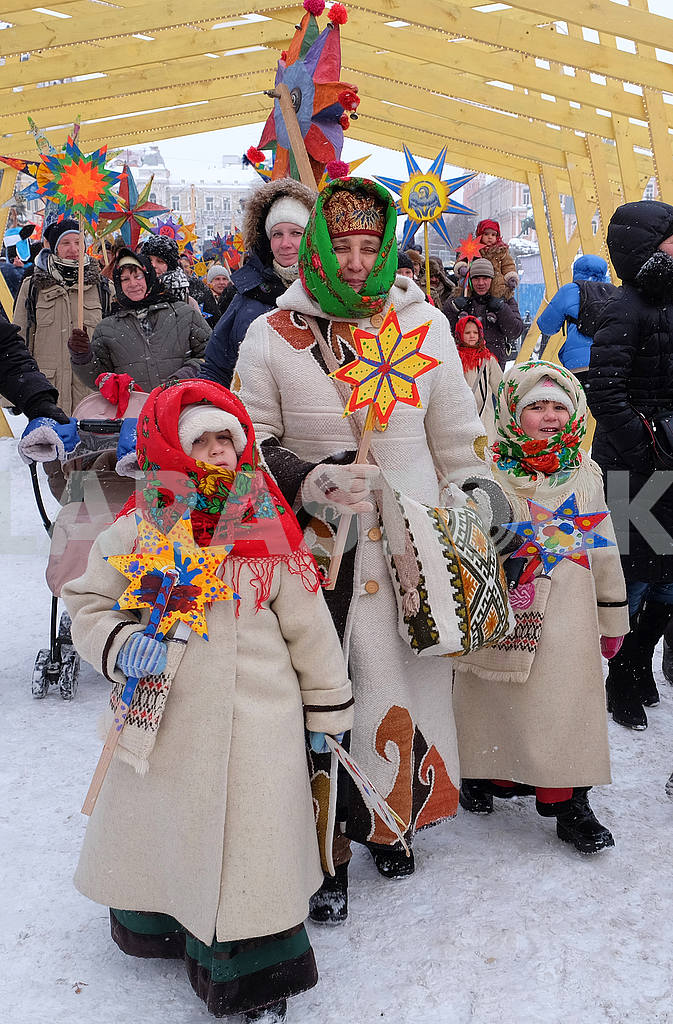 Christmas Celebration at St. Sophia Square in Kyiv — Image 49882