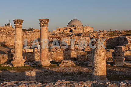 Roman architecture in Amman