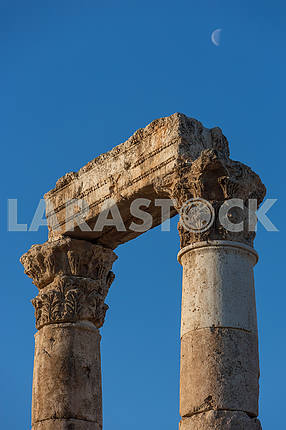 Roman Columns in Amman