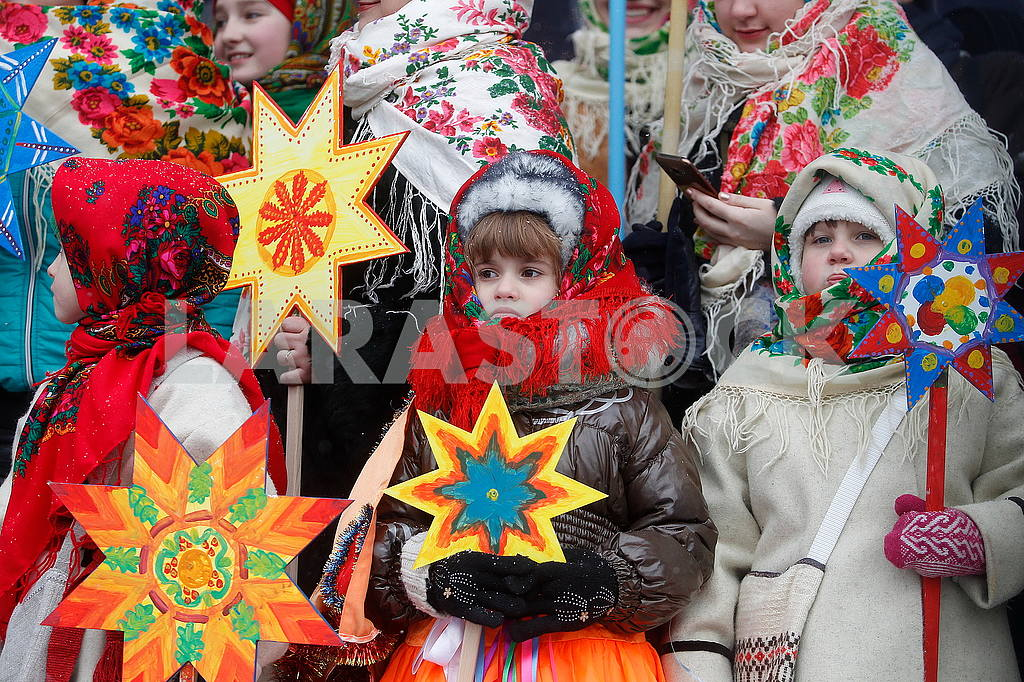Christmas Celebration at St. Sophia Square in Kyiv — Image 49907