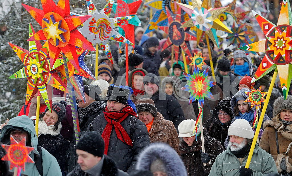 Christmas Celebration at St. Sophia Square in Kyiv — Image 49909