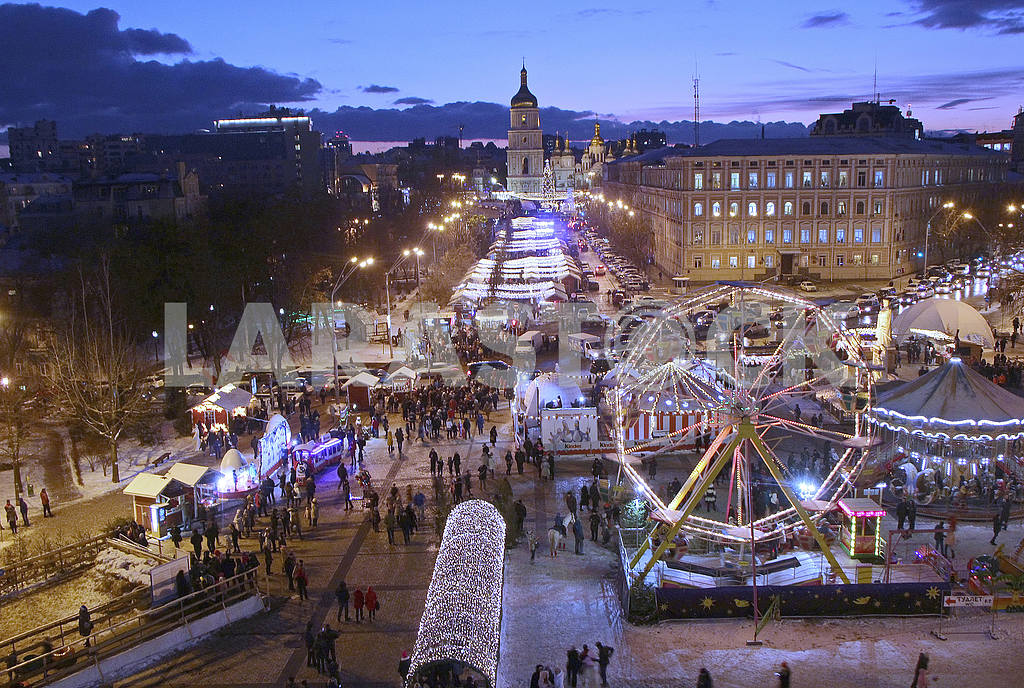 The Ferris Wheel at Mikhailovskaya Square — Image 49999