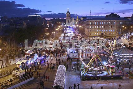 Колесо обозрения на Михайловской площади