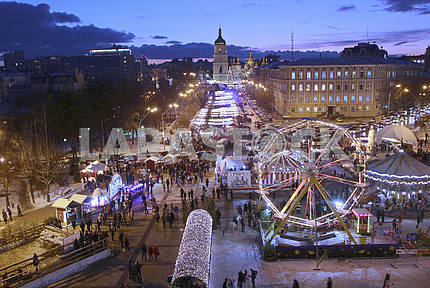 The Ferris Wheel at Mikhailovskaya Square