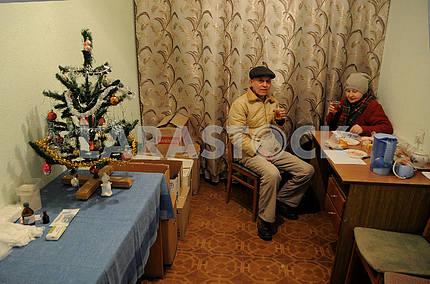 Heating point in Kiev