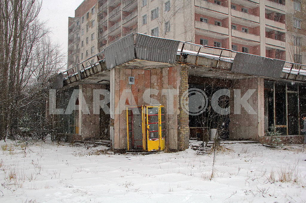 Left house in Pripyat — Image 50040
