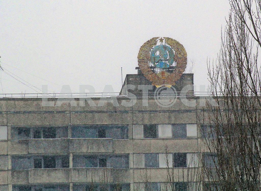 Герб Советского союза в Припяти — Изображение 50042