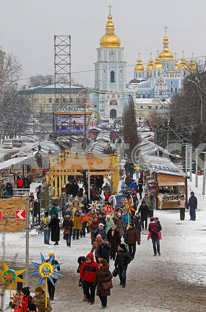 Christmas Celebration at St. Sophia Square in Kyiv — Image 50048