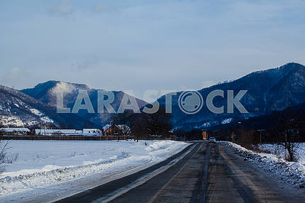 Road to the Carpathians
