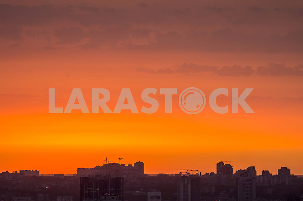 City Quarter against the Sunset — Image 50153