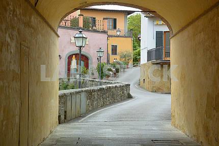 A street in Strada in Chianti