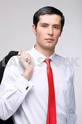 Young man representative