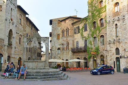 Place in San Gimignano