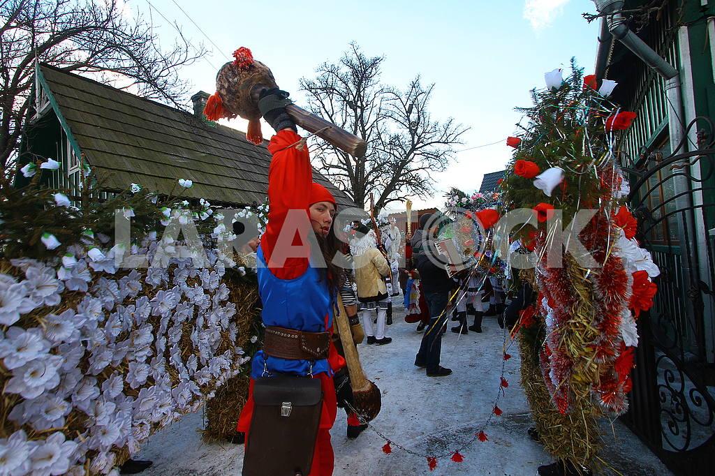 Celebrating Malanka in Krasnoielsk — Image 50232