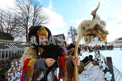 Malanka Festival in Krasnoielsk