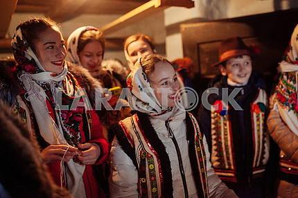 Carols in Zakarpattya
