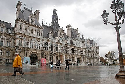Paris City Hall - Hotel de Ville