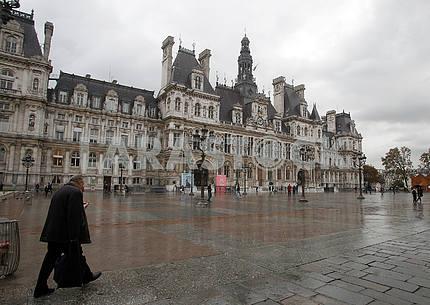 Plaza de Ville in Paris