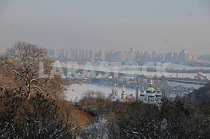 View of the railway bridge