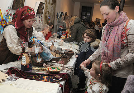 "Children's Christmas Festival ""Oreli"" in Kiev"
