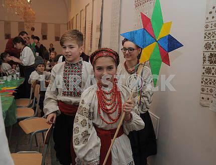 """Детский рождественский фестиваль """"Орели"""" в Киеве"""