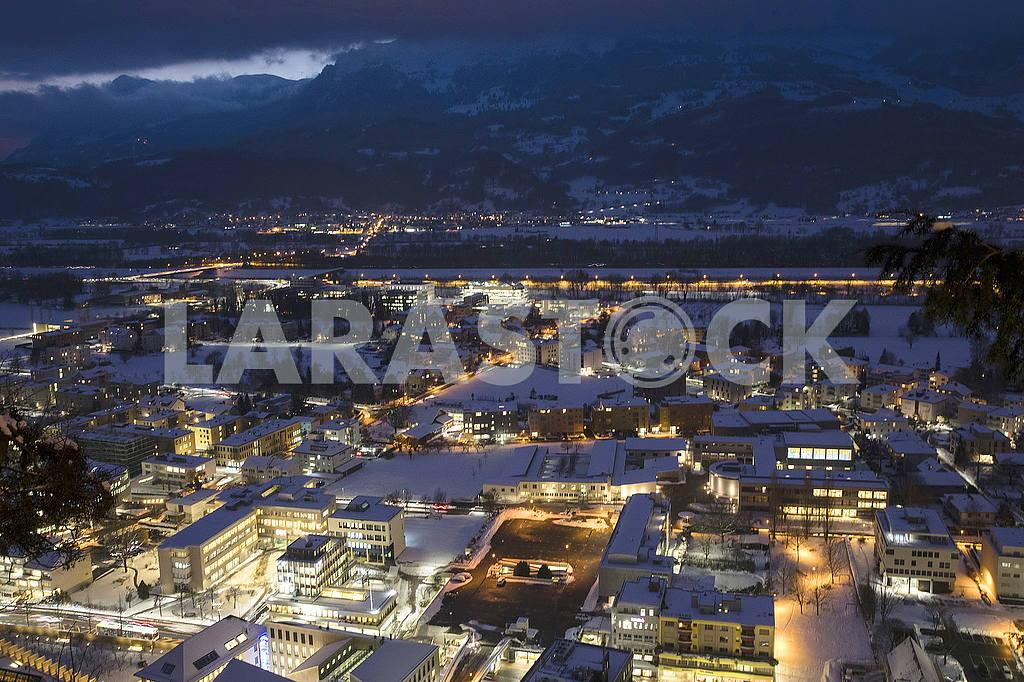 Panorama of Vaduz — Image 50369