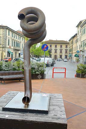 Area in Pontedera, Pisa, Italy