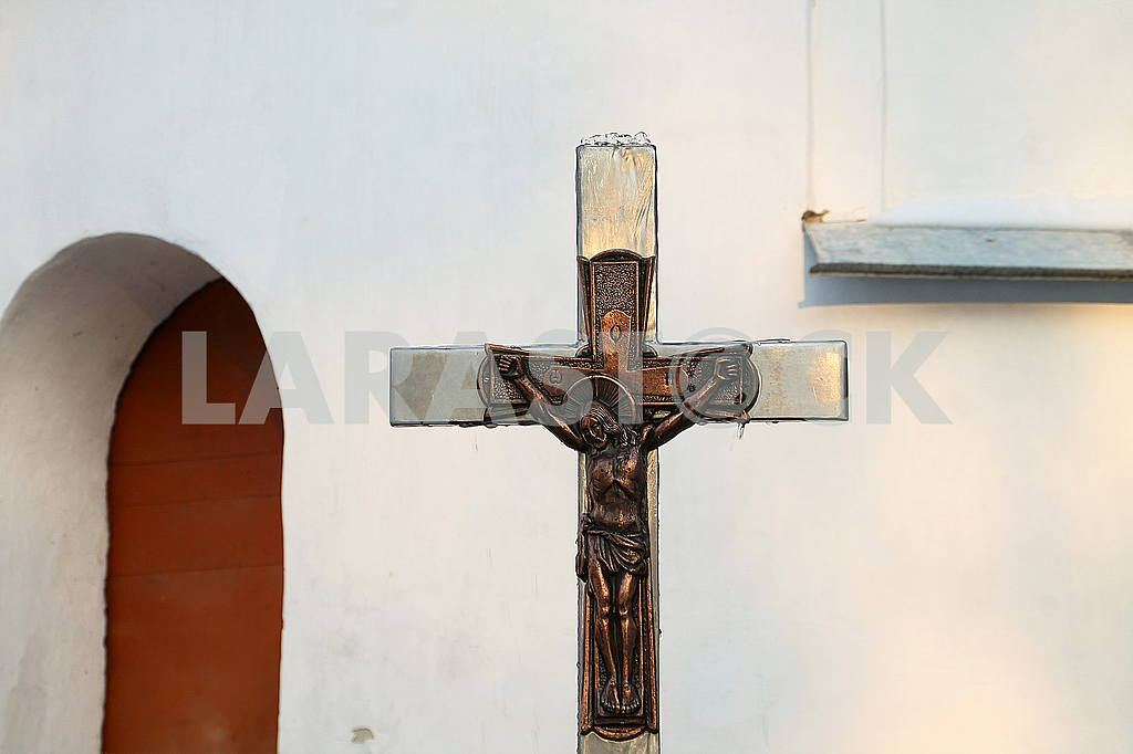 The cross with the crucifixion of Jesus Christ — Image 50382