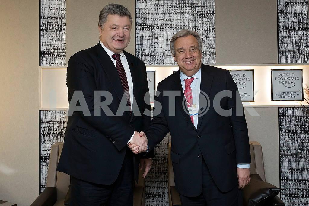 Petro Poroshenko and Antonio Guterres — Image 50459