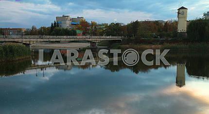 River Khorol in Mirgorod