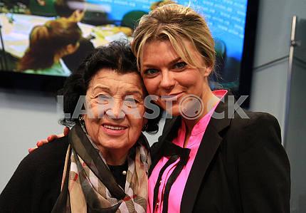 Albina Deriugina Blokhin and Irina 04.16.2016, Kiev