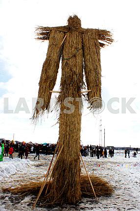 Pancake week, Shrovetide scarecrow