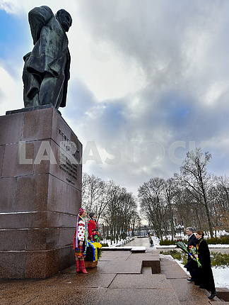 Monument to Taras Shevchenko in Kiev
