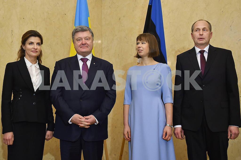 Marina and Petro Poroshenko, Kersti Kaliulaid and Georg-Reni Maksimovski — Image 50590