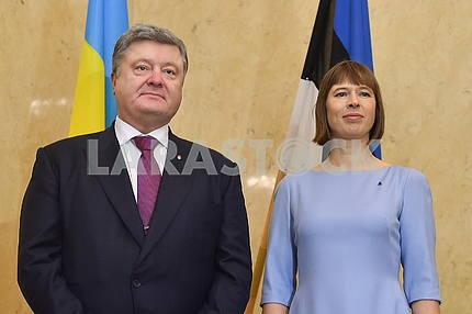 Kerst Kalyulayd and Petro Poroshenko
