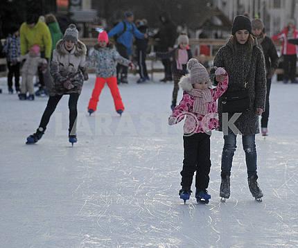 Skating rink on VDNKh