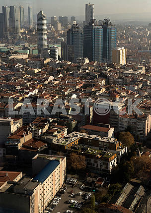 Quarter of Istanbul from the height