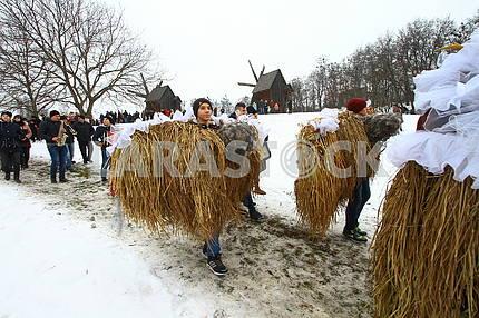 Празднование Маланки в Черновцах