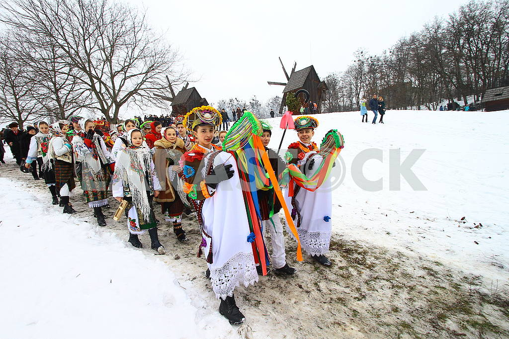 Celebrating Malanka in Chernivtsi — Image 50672