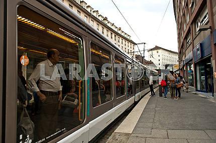 Tram on Strasbourg Str.