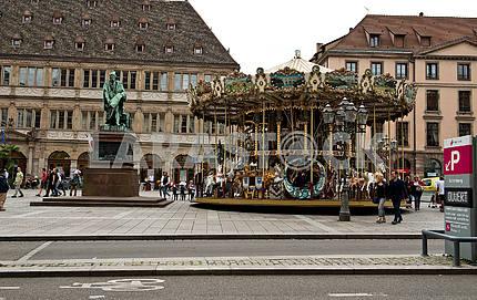 Kleber Square in Strasbourg