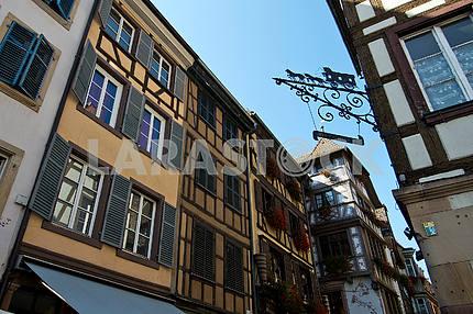 Quarter in Strasbourg