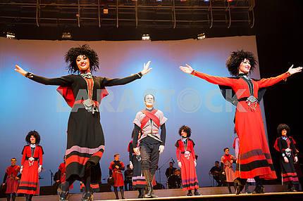 Dance ensemble Suhishvili