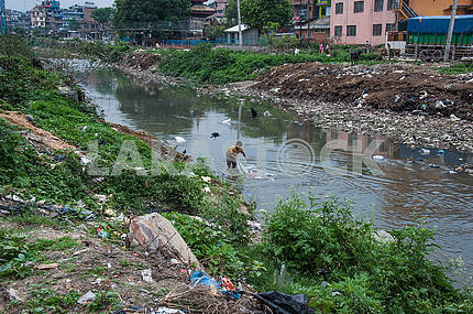 Man dead in river Bagmati erases tkant