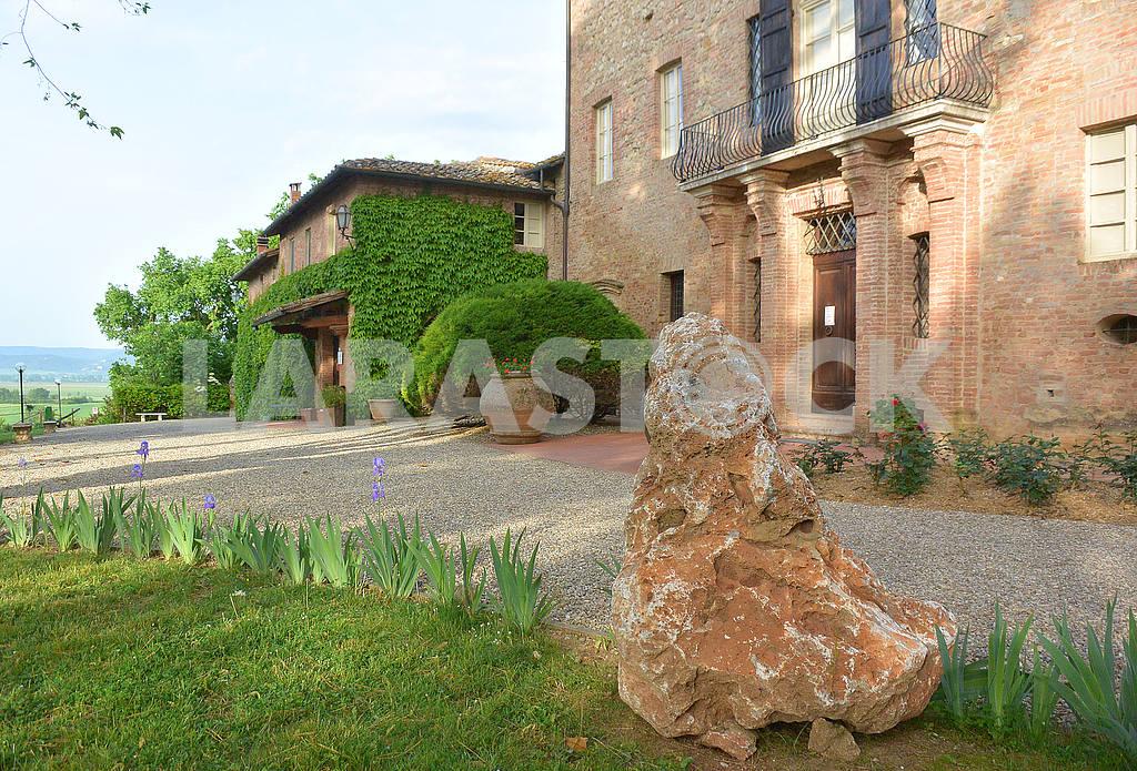 Ancient villa in Siena, Tuscany, Italy — Image 50784