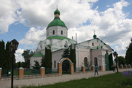 Transfiguration Church in the town of Glukhov