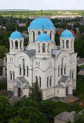 Anastasevskaya church in the town of Glukhov
