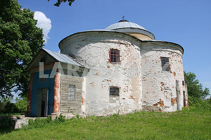 Old church in the district of Hlukhiv
